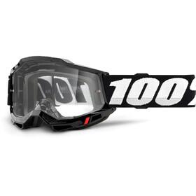 100% Accuri OTG Goggles Gen2, black/clear